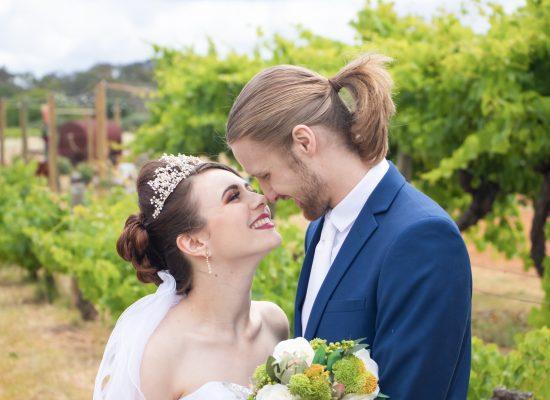 Brandon & Amy Swan Valley Perth Wedding Photography